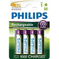 Philips çok aşamalı Life NiMH pil AA Mignon 1300mAh 4'lü Paket