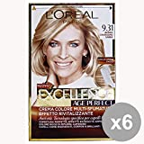 L'OREAL Set 6 Excellence Age Perfect 09.31 Chiaris Blond.Sand Haarpflegeprodukte