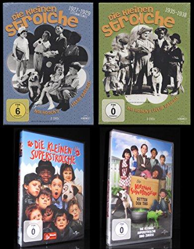 DVD DIE KLEINEN STROLCHE + DIE SUPERSTROLCHE 1 + 2 - 7 Disc-BOX-SET