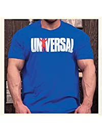 Universal nutrition animal since '77 t-shirt style oldschool taille m (bleu)