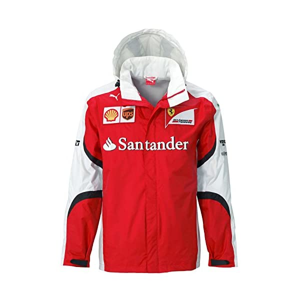 bc1dc8203ca PUMA® SF Scuderia Ferrari Formula 1 F1 Team Jacket All Weather Nylon ...