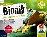Der kleine Hacker: Bionik - In der Ideenwerkstatt der Natur | 13 geniale Bauprojekte in der Natur | Experimentierkasten mit elektronischen Bauteilen für Kinder ab 8 Jahren
