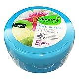 alverde NATURKOSMETIK Fußbutter Limette Echinacea, 200 ml Dose
