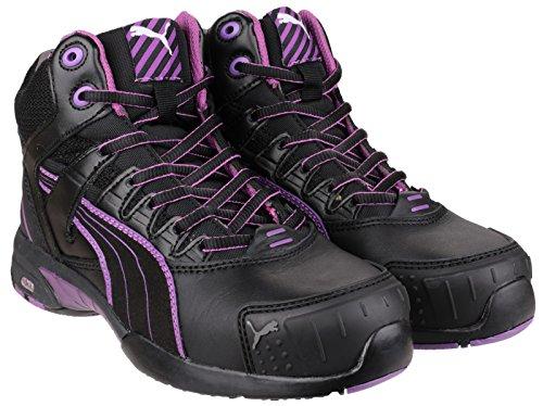Puma Stepper Ladies metà sicurezza lavoro Boot Nero