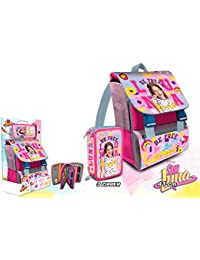 Preisvergleich für Soy Luna backpack and pencil case with accessories