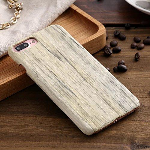 EKINHUI Case Cover IPhone 7 Plus Cover, Holzmaserung Muster Kunststoff zurück Fall für Apple IPhone 7 Plus ( Color : 2 , Size : IPhone 7 Plus ) 3