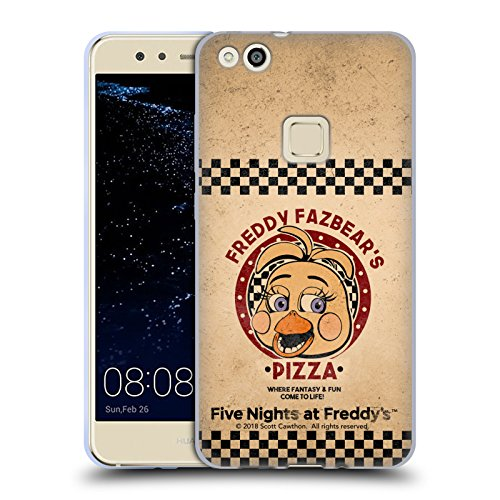 Official Five Nights At Freddy's Toy Chica Freddy Fazbear's Pizza Soft Gel Case for Huawei P10 Lite
