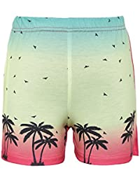 Punkster Printed Casual Shorts For Girls