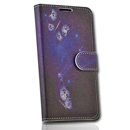 Handy Tasche Case book für Huawei Ascend G700 / Hülle Etui Handytasche Schutzhülle JS M35