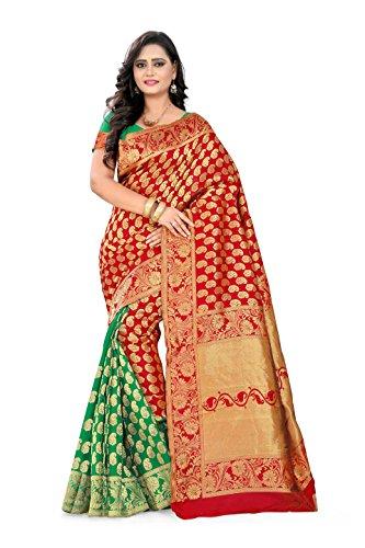 Inheart Poly Cotton Sarees New Collections For Women Beautiful Stunning Indian Wedding Woven Banarasi Saree- Elegance And Gracefulness Personified - Sarees New Collection Indian Dress