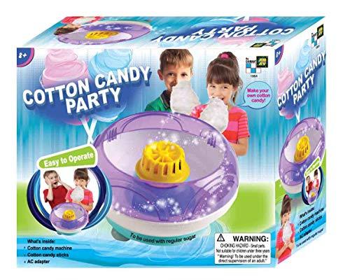 AMAV Cotton Candy Maker Spielzeug-DIY Make Your Own Cotton Candy mit regulären Zucker
