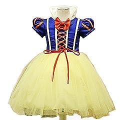Idea Regalo - Girl's Girls - Costume Halloween Carnevale Cosplay Biancaneve