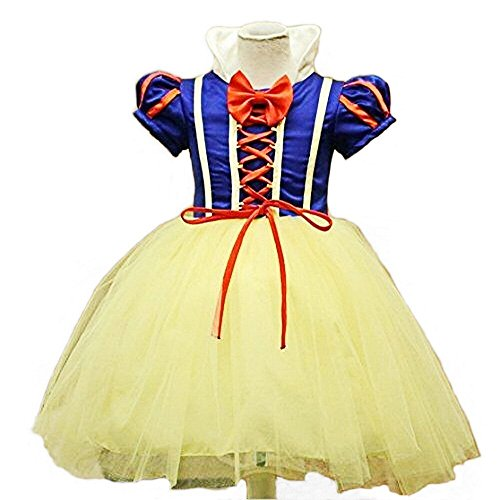 Girl 's Mädchen Snow Princess Halloween Party Kleid Kleidung Karneval Cosplay Kostüm