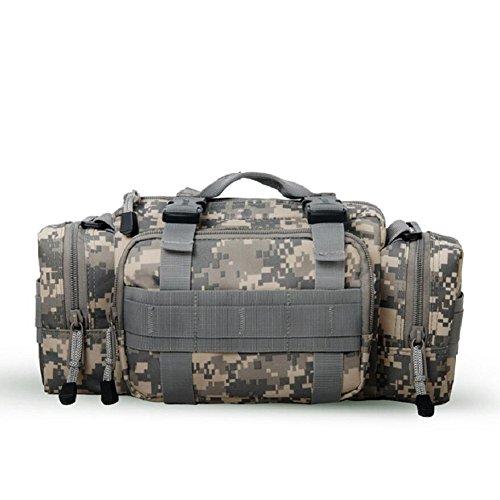 LJ&L Outdoor-Sport-Multifunktions-Taschen, Wandertour wasserdichte Kameratasche, taktische Taschen, Multifunktions-Umhängetasche, verstellbarer Riemen A