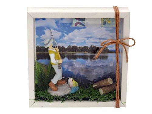 ZauberDeko Geldgeschenk Verpackung Angler Angeln Fischen Angelzubehör Gutschein Geschenkidee Geburtstag -