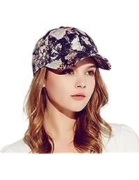 Kenmont mujeres 5 Panel deportes al aire libre visera gorro de algodón  gorra de béisbol 5ce01236460