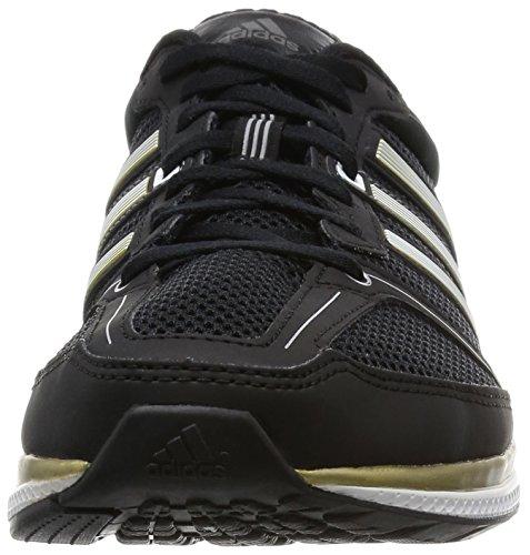 adidas Mana RC Bounce M, Chaussures de Foot Homme Noir / doré / blanc (noir essentiel / doré métallique / blanc Footwear)