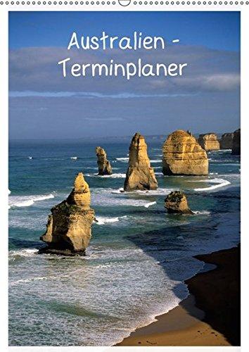 Australien - Terminplaner (Wandkalender 2018 DIN A2 hoch): Bilder aus Australien mit Tieren, Küsten, Städten, Landschaften, Leuchttürmen u.v.a. ... [Kalender] [Apr 01, 2017] Grosskopf, Rainer