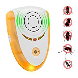 erasky elektronische ultraschall sch dlingsbek mpfer pest repeller control plug in insects. Black Bedroom Furniture Sets. Home Design Ideas