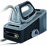 Braun CareStyle 5 IS 5044 Dampfbügelstation, 2.400 W, 6,5 bar, Dampfstoß: 360 g/min, Abschaltautomatik, Integrierter Textilschutz, Eco-Funktion, Schwarz/Grau