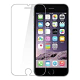 #6: PES Premium Tempered Glass,2.5D Hardness, Ultra Clear Shatter Proof, 9H Hard Screen Protector,Anti-Fingerprints & Oil Stains For Apple Iphone 6 / Apple Iphone 6S