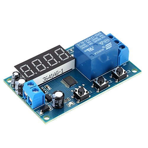 KKmoon Multifunktions Delay Time Modul Switch Control Relay Zyklus Zeitrelais DC 24V/12V¡­ -