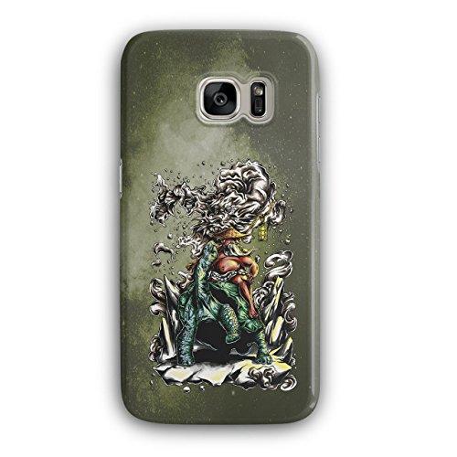 Wellcoda Chinesisch Drachen Kunst 3D Samsung Galaxy S7 Hülle (Kostenlose Drachen Bilder Chinesische)