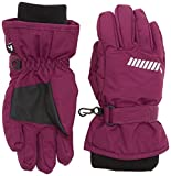 NAME IT Mädchen Fäustlinge Nitstorm Gloves Nmt G FO, Violett (Dark Purple), 8