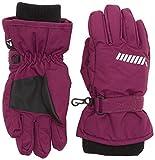 NAME IT Mädchen Fäustlinge NITSTORM Gloves NMT G FO, Violett (Dark Purple), 8 (Herstellergröße: 9)