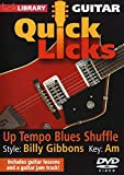 Guitar Quick Licks - Billy Gibbons Up-Tempo Blues