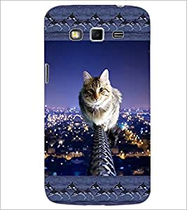 PrintDhaba Kitty D-3065 Back Case Cover for SAMSUNG GALAXY GRAND 2 (Multi-Coloured)