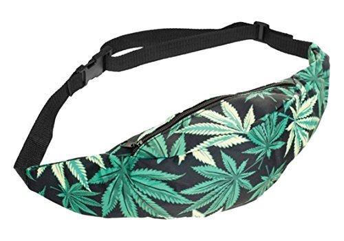 Hoja de Marihuana-Riñonera