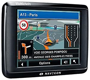 "Navigon 1410 VIAMICHELIN GPS Europe 3,5"" Noir"