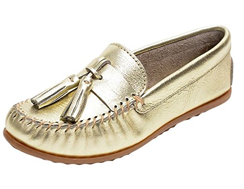 Minnetonka Shoes Womens Grace Moc Slip On Leather Tassels