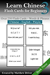 Learn Chinese: Flash Cards for Beginners. Book 3 (English Edition)