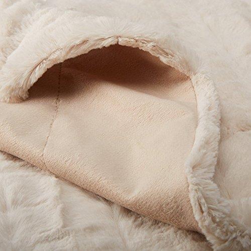 Amazonbasics manta de piel sint tica 150 x 200 cm - Mantas de piel sintetica ...