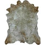 Zerimar Alfombra piel de cabra ¡OFERTA ESPECIAL 75 ANIVERSARIO! Medidas: 105x80 cms 100% Natural Piel procedente de Brasil, consideradas las mejores pieles del mundo por su curtición y brillante pelo