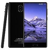 "LEAGOO KIICAA MIX - 5.5 ""FHD Plein écran android 7.0 4G smartphone, Corning Gorilla Glass 4, Octa Core 1,5 GHz 3 Go de RAM 32 Go ROM, Triple caméra (13MP + 2MP + 13MP), Noir"