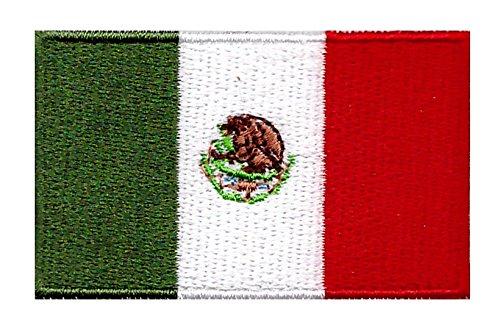 Parche Termoadhesivo Bandera de México 6cm