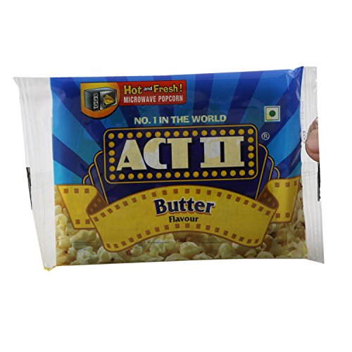 Act II Microwave Popcorn – Butter, 33 g Pouch