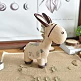 Kaige Tischdekoration Harz-Ornamente kleiner Esel