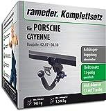 Rameder Komplettsatz, Anhängerkupplung abnehmbar + 13pol Elektrik für Porsche Cayenne (143146-04899-2)