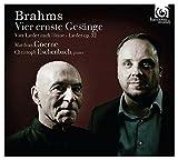 Vier ernste gesänge, op. 121. Lieder und Gesänge, op. 32 / Johannes Brahms   Brahms, Johannes (1833-1897)