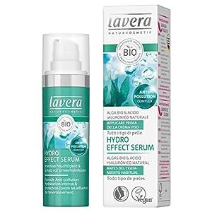 lavera Hydro Effect Serum Facial – Algas bio & ácido hilaurónico natural – vegano – cuidado facial biológico – cosméticos naturales 100% certificados – cuidado de la piel – 30 ml