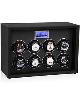 Modalo Safe Systems MV3 Uhrenbeweger für 8 Automatikuhren in schwarz 5508113