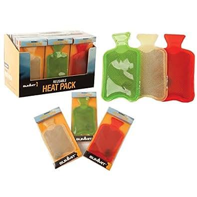 Bouteille d'eau chaude poche chaleur pack main chaude