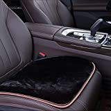 Cuscino Del Sedile Auto - Cuscino Per Il Sedile Caldo Antiscivolo In Autunno E In Inverno,Black