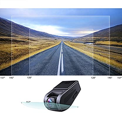 AUKEY-Autokamera-4K-HD-Dash-Cam-157-Weitwinkelobjektiv-mit-Superkondensator-HDR-Nachtsicht-Kamera-fr-Auto-mit-G-Sensor-Bewegungserkennung-Loop-Aufnahme-und-Dual-Port-Kfz-Ladegert