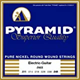 Saiten Electric - Gitarre - Pyramid-superior quality- 011-048- Jazz -pure nickel round wound