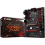 MSI Z270 Gaming Plus - Placa base (ATX, Intel 1151, 4xDDR4-3800, 6xSATA) color negro